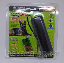 Ультразвуковой отпугиватель собак c фонариком AD-100 Отпугиватель животных Защита от собак