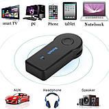 Аудио адаптер Bluetooth AUX 3.5 мм, Bluetooth-гарнитура для автомобиля, ресивер для автомагнитолы, блютуз, фото 2