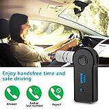Аудио адаптер Bluetooth AUX 3.5 мм, Bluetooth-гарнитура для автомобиля, ресивер для автомагнитолы, блютуз, фото 7