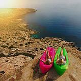 Надувний лежак Ламзак Пляжний надувний шезлонг Шезлонг надувний пляжний з сумкою для перенесення, фото 6