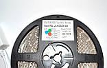 Стрічка світлодіодна (світлодіодна стрічка вологозахищена) SMD LED (багатобарвне) з пультом управління, фото 3