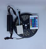 Стрічка світлодіодна (світлодіодна стрічка вологозахищена) SMD LED (багатобарвне) з пультом управління, фото 9