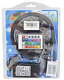 Стрічка світлодіодна (світлодіодна стрічка вологозахищена) SMD LED (багатобарвне) з пультом управління, фото 10