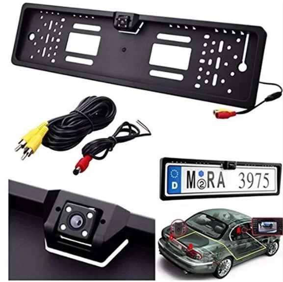 Камера заднего вида в рамке номерного знака автомобиля Камера в номерной рамке авто Рамка для номера