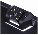 Камера заднього виду у рамці номерного знаку автомобіля Камера номерний рамці авто Рамка для номера, фото 3