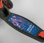 Самокат триколісний чорний 20157 Best Scooter, фото 3