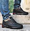 Кросівки ЗИМОВІ Чоловічі Коламбія Туфлі на Хутрі Чорні (розміри: 44) Відео Огляд, фото 4
