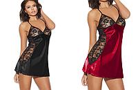 Сексуальное белье. Эротический комплект. Пеньюар. Ночная рубашка Пижама Ночнушка