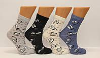 Женские носки высокие стрейчевые с хлопка компютерные STYLE LUXE КЛ kjv kjsv120 глазки