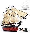 """Великий конструктор Корабель Sluban M38-B0836 """"Фрегат"""", 1118 дет (масштаб 1:170), фото 3"""