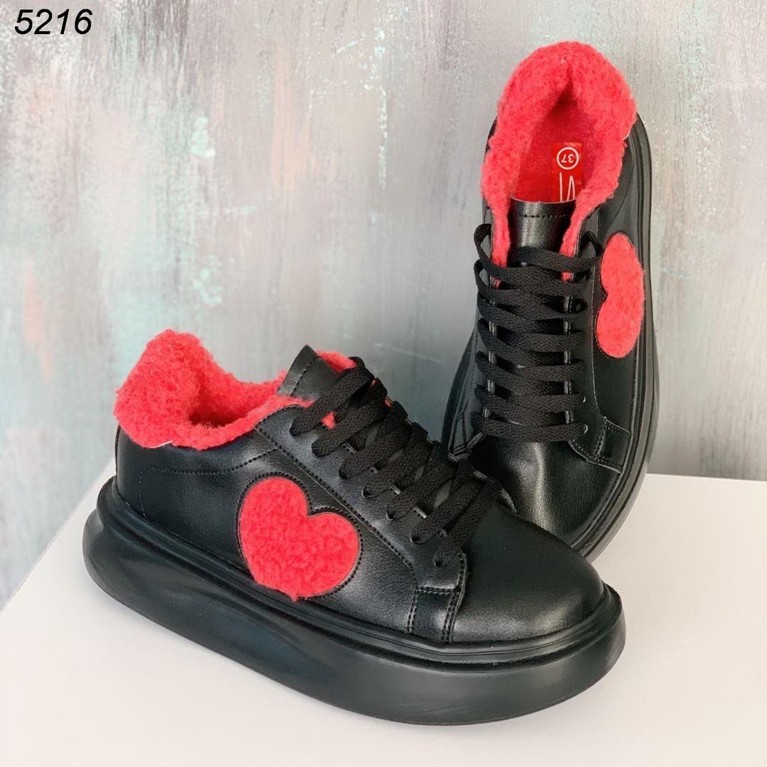 Утепленные кроссовки 5216 (ВБ)