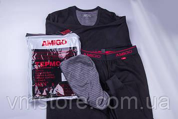 Комплект мужского термо белья  Amigo, термо белье