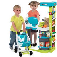 Интерактивный супермаркет с тележкой Smoby (350207)