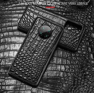 """Xiaomi Mi A2 оригинальный противоударный чехол панель накладка бампер НАТУРАЛЬНАЯ кожа """"SIGNATUR"""""""