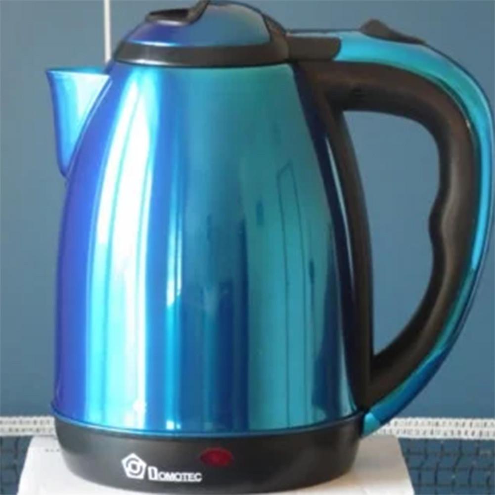 Электрочайник Domotec 1.8 литра синий
