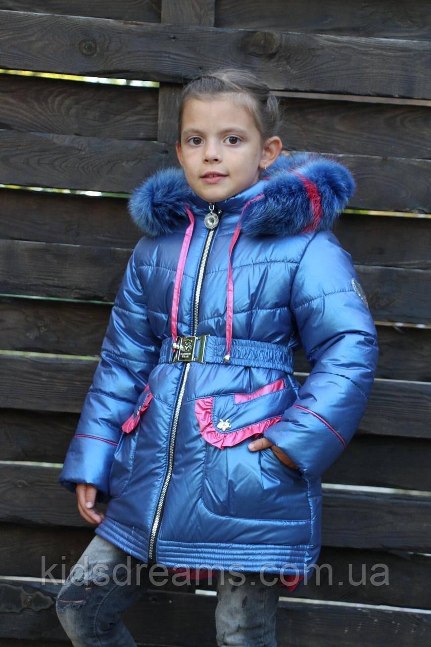 """Зимова куртка для дівчинки """"Ніка"""""""