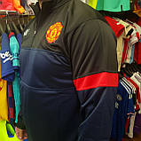 "Кофта ""ФК Манчестер Юнайтед"" с логотипом нашивкой клуба и вышивкой MU, фото 2"