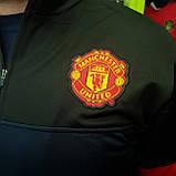 "Кофта ""ФК Манчестер Юнайтед"" с логотипом нашивкой клуба и вышивкой MU, фото 5"