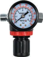 Редукционный клапан с манометром Yato YT-2381