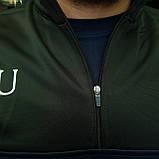 "Кофта ""ФК Манчестер Юнайтед"" с логотипом нашивкой клуба и вышивкой MU, фото 6"