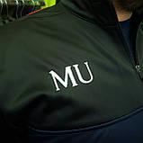 "Кофта ""ФК Манчестер Юнайтед"" с логотипом нашивкой клуба и вышивкой MU, фото 7"