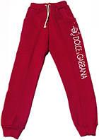 Теплі спортивні штани на флісі на дівчинку, 122см