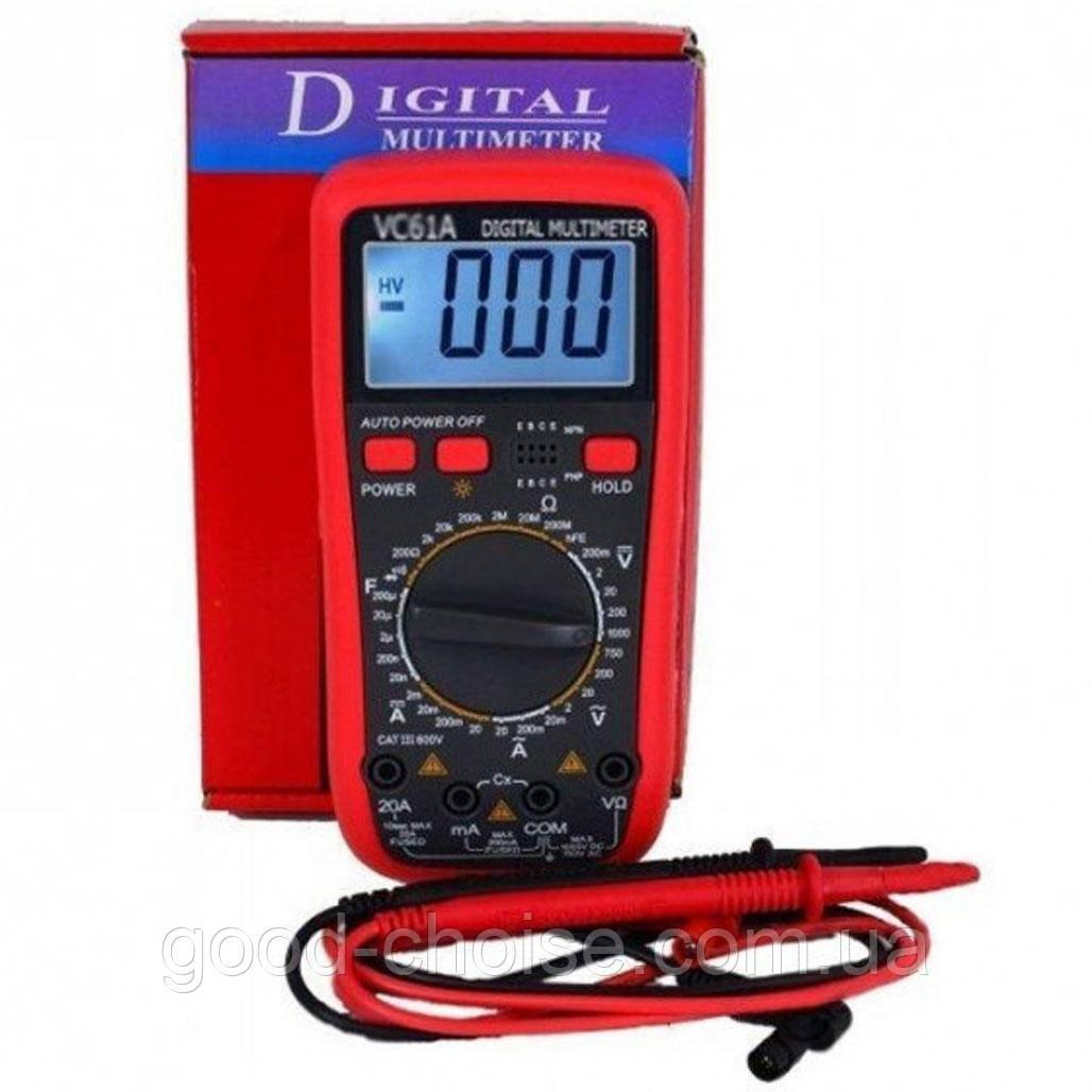 Цифровой мультиметр DT VC 61A / Электронный измерительный прибор