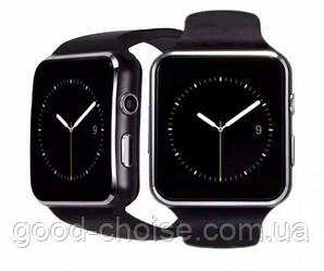 Умные часы-телефон Smart Watch X6 (E6, X6D) Черные