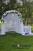 Свадебная арка + столик в аренду