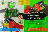 «Зеленый щит для томатов, перца и баклажан» 10 г + 3 мл, оригинал