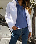 Женская куртка, плащёвка Канада + синтепон 200, р-р 42-44; 44-46 (белый), фото 3