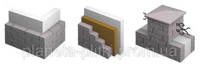 Варианты укладки фасадного камня