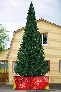 Новогодняя искусственная литая ель 5 метров Ковалевская зеленая