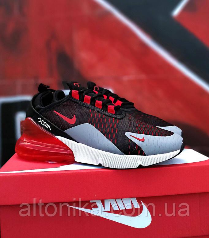 45р-29 см. Кроссовки Nike Air 270 черно-красные. NK-68-4145
