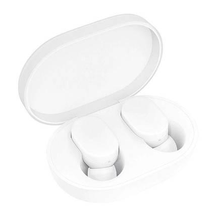 Беспроводные наушники Mi True Wireless Earbuds (ZBW4420GL) White, фото 2