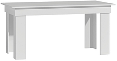 Стол 160x80x75  МАДРАС цвет- Белый