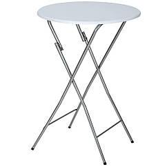 Садовий складной стол бистро-бар O80cm