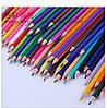 Набор карандашей для рисования Vincis Secret 48 штук / Разноцветные карандаши, фото 9