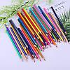 Набор карандашей для рисования Vincis Secret 48 штук / Разноцветные карандаши, фото 10