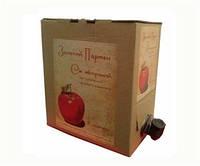 Сок яблочный Золотой Пармен, 3 л
