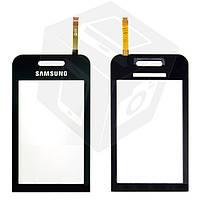 Touchscreen (сенсорный экран) для Samsung Star S5230, черный, оригинал