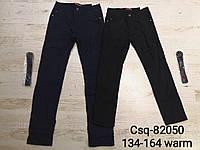 Котоновые брюки для мальчиков на флисе Seagull 134-164 р.р., фото 1