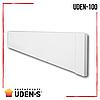 Теплый плинтус UDEN-S 100 обогреватель инфракрасный металлокерамический 498х130х15 мм 100 Вт, фото 6