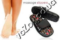 Массажные рефлекторные тапочки Massage Slipper Массаж Клиппер, фото 1