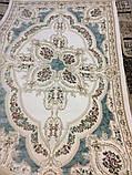 АКРИЛОВЫЙ КОВЕР PRESTIGE 15310 63 КРЕМОВЫЙ С ГОЛУБОЙ, фото 7