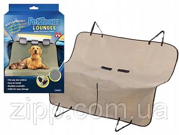 Килимок для тварин автомобільний Pet zoom loungee. Автомобільний килимок для собак.