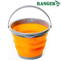 Ведро силиконовое складное Ranger 5 Л