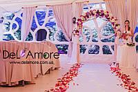 Выездная церемония, свадебная арка, столик, указатель в аренду
