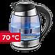 Чайник електричний скляний Concept RK4061 2200 Вт, фото 7