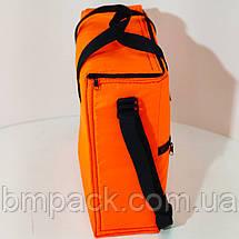 Термосумка Termol 17л. 37х13х36 см оранж люм, фото 3